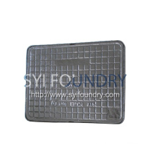 Ductile iron rainwater sewer rectangular manhole cover