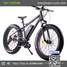 Vélo électrique OEM 2017 mi conduire électrique gros pneu vélo 48 v 1000 w