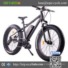 Bicicleta gorda elétrica 48v 1000w do pneu da movimentação meados de da bicicleta elétrica do OEM 2017