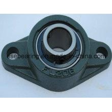 Rodamiento de bolitas de acero inoxidable con carcasa de cojinetes (UCFL206)