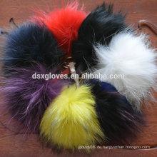 Raccon Fur Chain Schlüsselanhänger Schlüsselanhänger