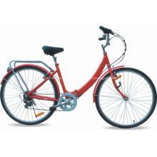 Cheap bicicleta da cidade de alumínio