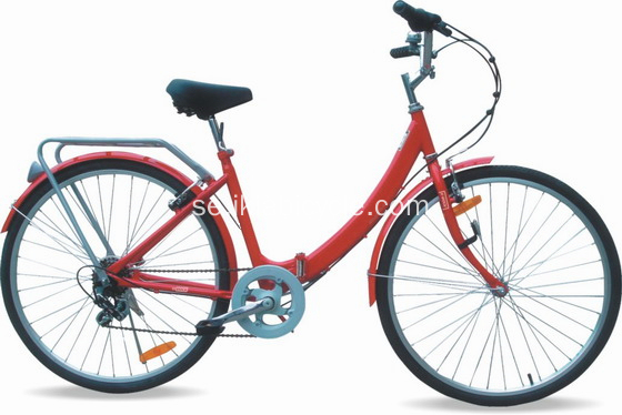 700C 7 Speed ​​Women City Cyklar