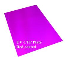Placa de calidad Ctcp recubierta de rojo de impresión larga