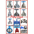 DN200 water rising stem GOST gate valve