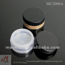 MC2006A com recipiente giratório de pó solto com peneira