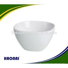 Cuenco cuadrado de porcelana de diferentes tamaños con servicio de ventanilla única