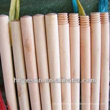 2.2 * 120cm varas de vassoura de madeira natural