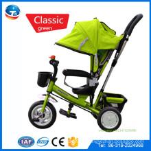 China Baby-Spaziergängerhersteller Großhandelsqualitätsprodukte Baby-Spaziergänger 3 in 1, Mutterbaby-Spaziergängerfahrrad