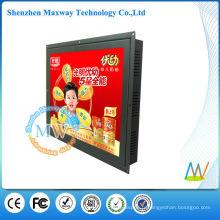 HD 15 pouces 1024 * 768 totem lcd lecteur de publicité