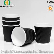 4 Oz ondulación disponible café taza de papel para la degustación