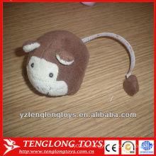 2013 nuevos niños del diseño de la cinta del juguete oídos formaron la cinta métrica de la felpa