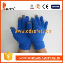 Azul para el iPhone guantes de toque inteligente (dkd436)