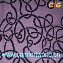 Flocage de tissu utilisé pour les meubles de canapé