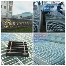 Galvanized Steel Grating Tread Way