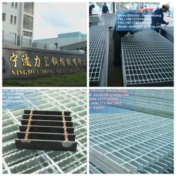 Galvanized Open Steel Rectangular Grating