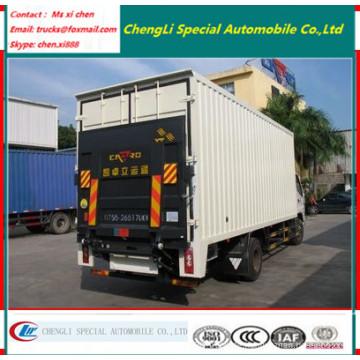 4X2 10tons LKW Fracht LKW Van Truck