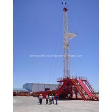 Plataforma de perforación petrolífera eléctrica en tierra para equipos de yacimientos petrolíferos