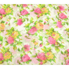 Customed gesponnenes Polyester gedrucktes Schal-Gewebe