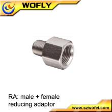 Acero inoxidable 316 tubo de tornillo de 8mm y accesorios adaptador de conector