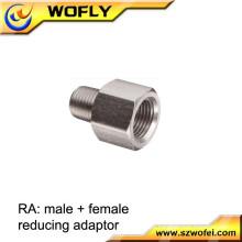 Aço inoxidável 316 8mm parafuso tubo e adaptadores adaptador conector