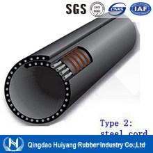 Powder Material Handling Steel Cord Pipe Conveyor Belting