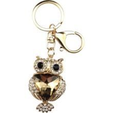 Black eyes owl keychain