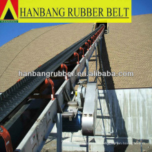 "Chevron conveyor belt EP250/4ply3+2 ""V"" cleat 15mm"