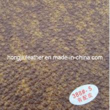 Nachgemachtes Snakeskin-dekoratives Muster-Sofa-Leder