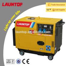 Fuente de alimentación portátil para el generador diesel silencioso 5.5KW
