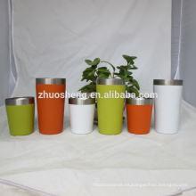 logotipo personalizado impresión alta calidad reutilizables vasos de plástico por mayor