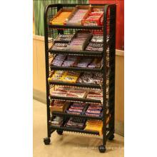Estante de exhibición de dulces Premium