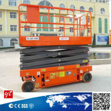 Self Propelled Aerial Lift Platform Driven by Hydraulic