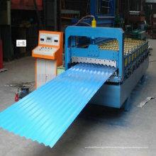 Hojas de material para techos de hoja de color que hace la máquina