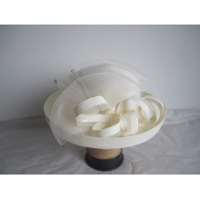 Chapéus do vestido de casamento da forma das mulheres