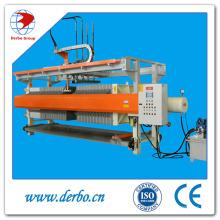 Presse à filtre hydraulique pour matériaux de construction