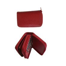 Keypouch en cuir véritable, Keycase, (EY-005) Porte-clés