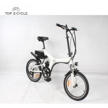 Bicicleta eléctrica del motor de TOP / OEM 8fun 250w que dobla la bici eléctrica