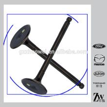 Válvulas de admissão e de escape Mazda de qualidade LF01-12-121