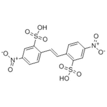 Benzenesulfonic acid,2,2'-(1,2-ethenediyl)bis[5-nitro-  CAS 128-42-7