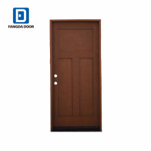 Фанда водонепроницаемый смц стеклоткани prehung двери и двери кожи