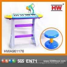 Instrumento musical de venta caliente Piano electrónico para niños