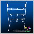 Functional high-quality desktop wire metal hanging display racks