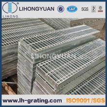 Reja de la barra de acero galvanizado para piso calzada