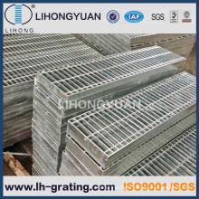 Grille des barres en acier galvanisé pour allée de l'étage