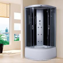 Cabine do chuveiro do vapor do vidro luxuoso da forma do quadrante