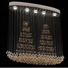 luxury modern chandeliers led hanging lighting