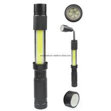 Linterna telescópica de la COB 3W LED (WL-1033)