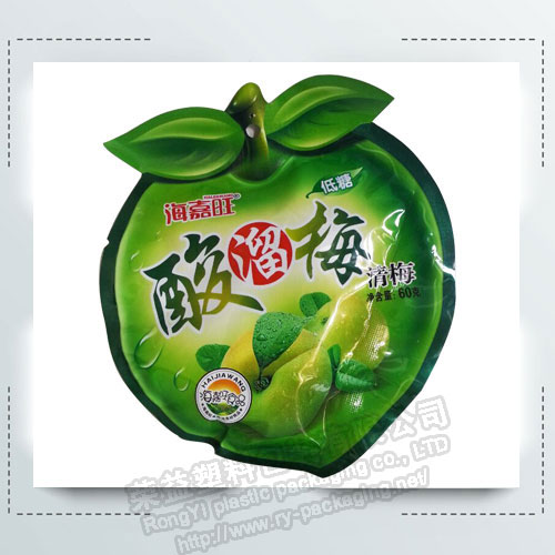 New Design Fruit Shaped Pouches for Liquid