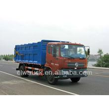 Dongfeng camión de basura basura, China camión de basura nuevo